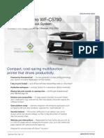 Epson WF C5790 Product Brochure
