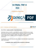 [Direção Concursos] Revisão_TRF4_Redação_Prof Flávia Rita