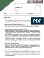 Autoatividade Capitulo 1 - DONS E MINISTERIOS ITQ