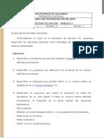 Módulo 2 - Ejercicios - Ciclo For