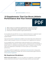 10 Supplements That Can Boost Athletic Performance and Your Immune System _ Muscle & Strength