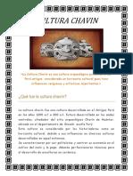 Cultura Chavin Informe