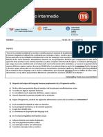 MONITOREO INTERMEDIO 2° MEDIO