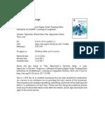 Thinking Skills and Creativity Volume Issue 2017 [Doi 10.1016%2Fj.tsc.2017.10.004] Tâm, Nguyễn Thị Minh; Linh, Nguyễn Thị Thùy -- Influence of Explicit Higher-Order Thinking Skills Instruction on Stud