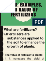 Types, Examples, And Value of Fertilizers