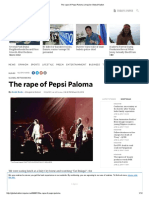 Rape of pepsi paloma