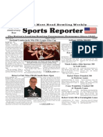 August 7 - 13, 2019  Sports Reporter