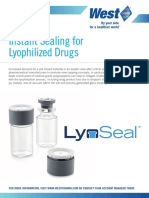LyoSeal Information Sheet