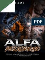 Alfa Peligroso- Sara Toledano