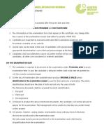 German Language Goethe Exam Rules