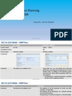 SAP ECC vs S4HANA Differences