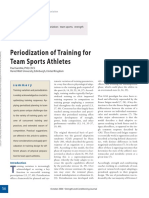 Periodization of Training for Team Sports Athletes.9