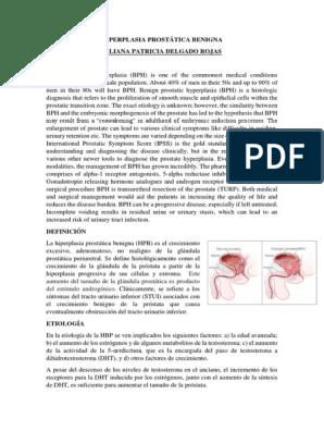 hiperplasia prostatica fibroadenomatosa