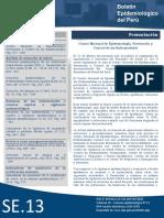 (13) Boletin Epidemiologico 2016.04