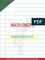 Health - Concepts