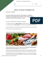 Dieta Paleolítica_ O Guia Completo Da Dieta Paleo (2016)