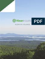 Klean at a Glance