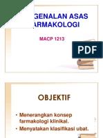 01 Pengenalan Asas Farmakologi