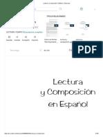 Lectura y Composición en español 3 grado