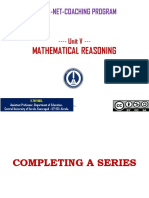 Mathematical Reasoning - Thiyagu