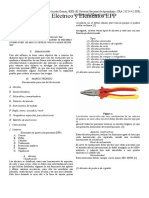 Herramientas de Uso Electricoy Elementos EPP o