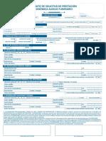 Formato de Solicitud de Prestacion Economica Auxilio Funerario (1)