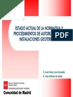 Juan Pedro Luna Estado Actual de Situacion Normativa