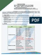 3º Campeonato y Selectivo Amac Torneo Internacional-1