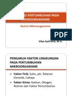 5. Fisiologi Pertumbuhan Pada Mikroorganisme