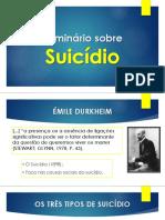 Seminário sobre o Suicídio