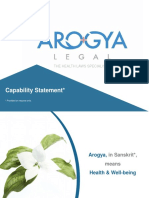 Arogya Legal - Capability Statement