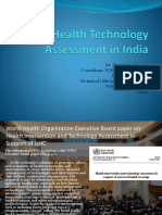 165 Health Technology Assessment in India