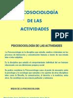 La Psicosociología 2019