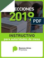 Instructivo para Autoridades de mesa - Elecciones 2019.pdf