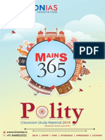 Vision IAS Mains 365 Polity 2019 PDF[@PDF4Exams]