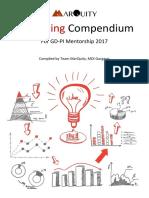 Marketing Compendium