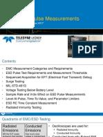ESD Pulse Measurements Using Oscilloscopes - August 2017