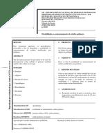 DNER-ME 384.99 - Estabilidade Ao Armazenamento de Asfalto Polímero