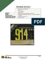 914 Informe de Falla Blower 1y 2