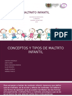 MALTRATO INFANTIL DIAPOSITIVAS