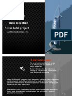 Data collection of 5 star hotel