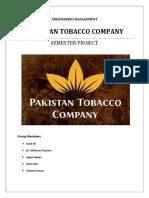 Final and Final Pakistan Tobacco Company