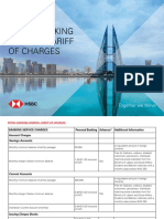 General Tariff of Charges English