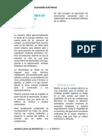 CONSIDERACIONES DE INSTALACIONES ELÉCTRICAS