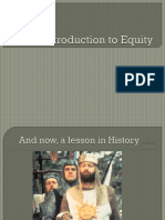 Introduction to Equity