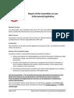 Report Committee Law Enforcement Legislation 2017 (1)