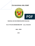 Manual de Documentación Policial