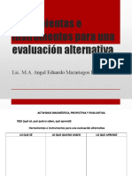Evaluación alternativa.