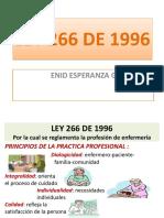 LEY  266 DE 1996