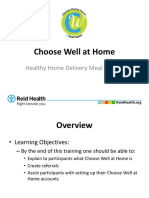 choose well at home powerpoint